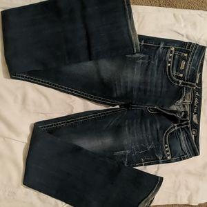 LA Idol studded jeans